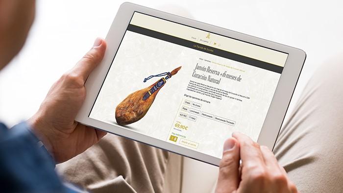 Inauguramos la tienda On-line de Jamones de Juviles